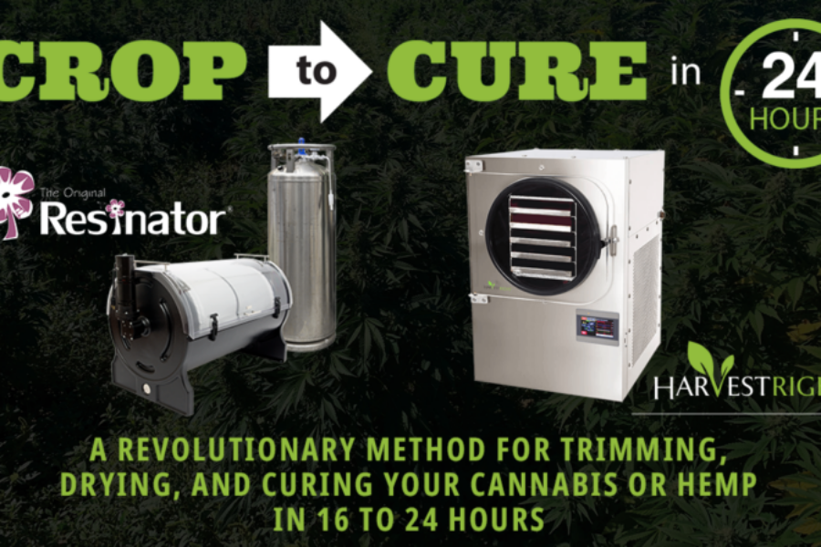 Freeze Drying &Crop-to-Cure™